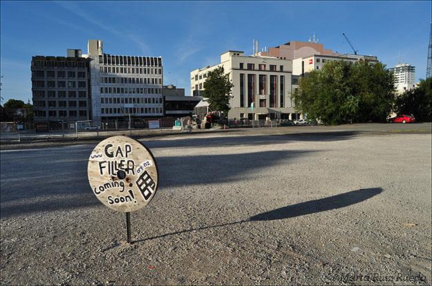 Uno de los espacios donde pronto se instalará uno de los proyectos de Gap Filler