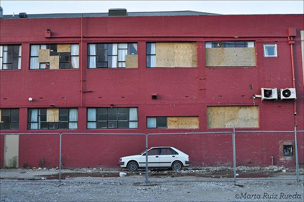 Edificio que albergaba el Hostel YHA de central Christchurch