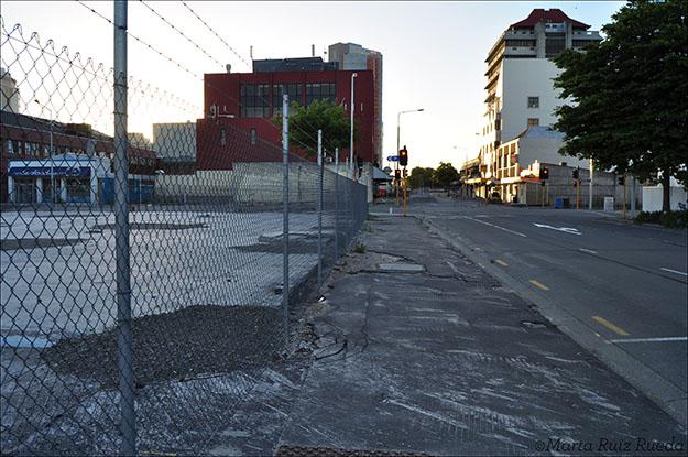 El terreno de la ciudad ha sufrido grandes cambios producto del terremoto y la licuefacción