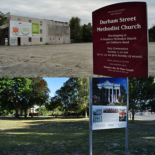 La mayoría de las iglesias se tuvieron que demoler