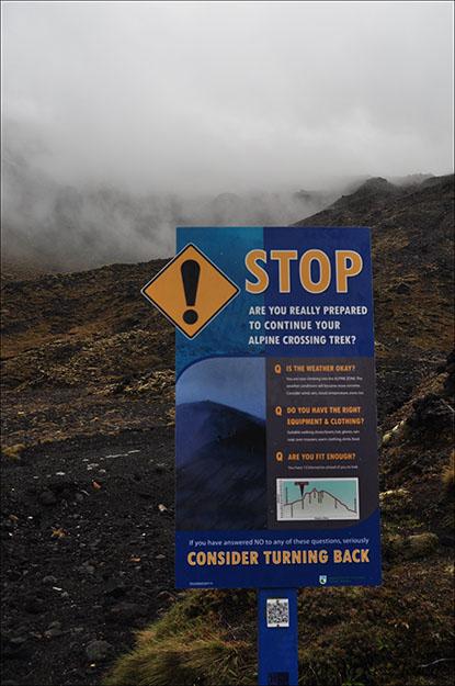 Hay que considerar el estado físico y las condiciones climatológicas antes de subir a la cima