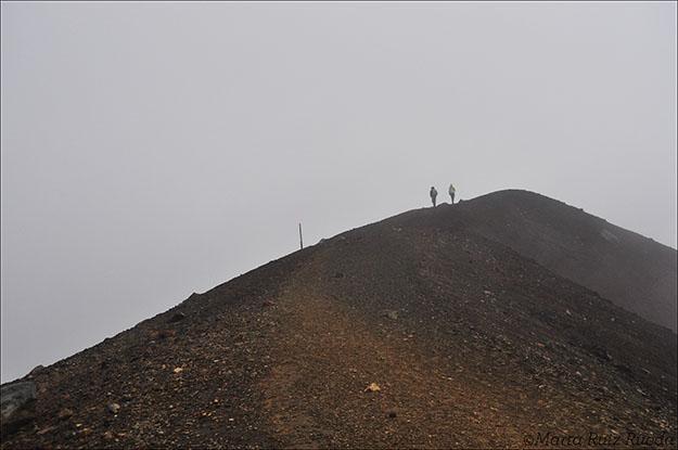 Las condiciones climatólogicas del 31 de diciembre de 2012 no fueron las mejores