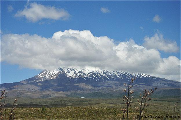 Mt. Ruapehu o Mordor desde Mangatepopo