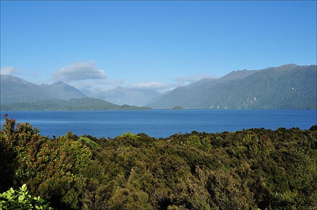 Paisaje que se puede contemplar de Queenstown a Te Anau