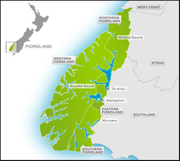 Región de Fiordland