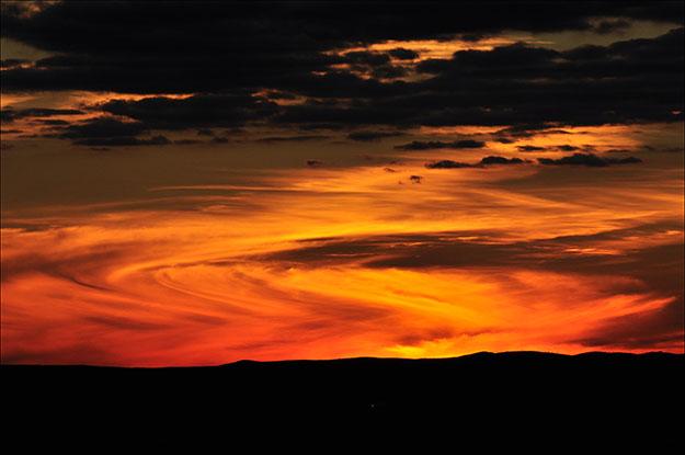La mejor puesta de sol que he visto hasta ahora