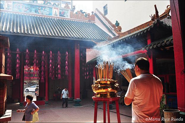 Templo chino en China Town