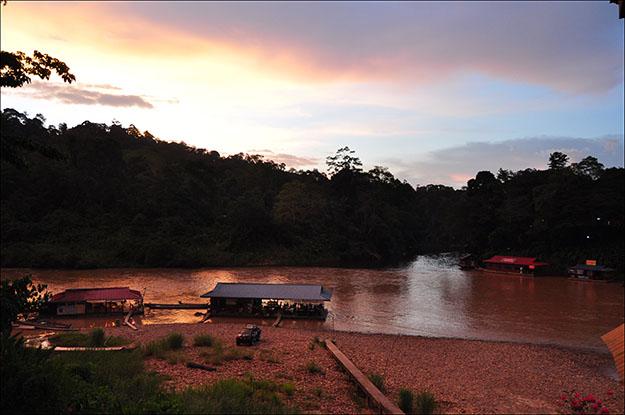 Vista del parque desde Kuala Tahan