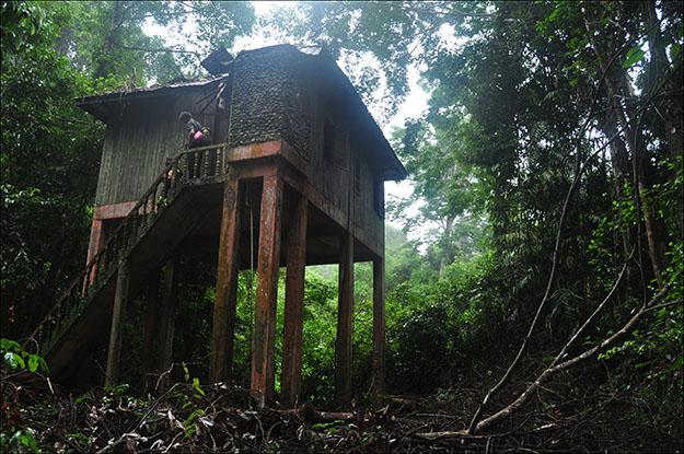 El refugio Bumbun Kumbang