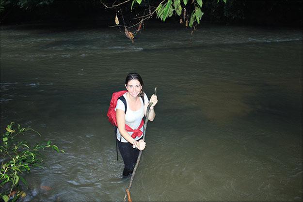 Finalmente cruzamos el río