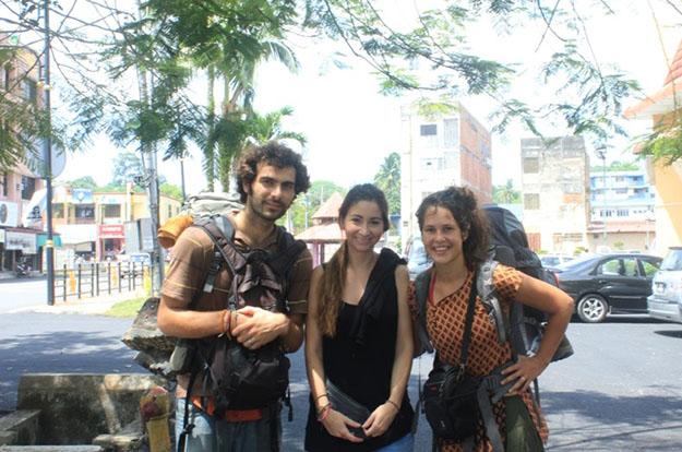 Fabienne y Thibault, dos incansables viajeros
