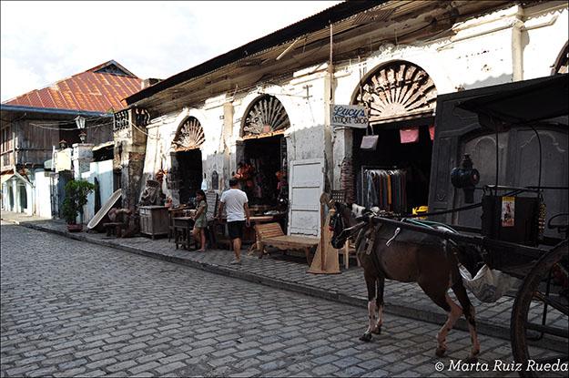 Calle de los Reyes, Vigan