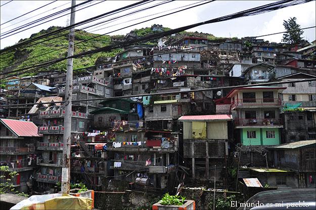 Baguio, un pueblo de paso para llegar a los pueblos de la Cordillera