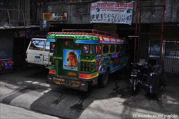 Un típico Jeepney