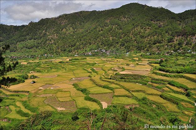 Sagada, un pueblo rodeado por arrozales