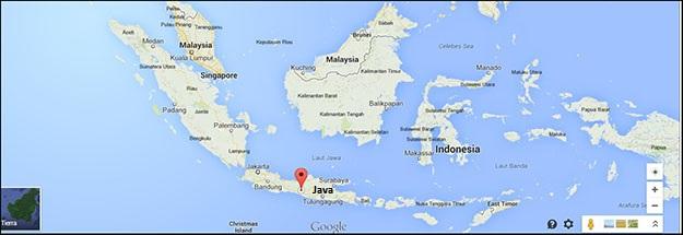 La isla de Java, perteneciente a Indonesia es donde se encuentra Borobudur