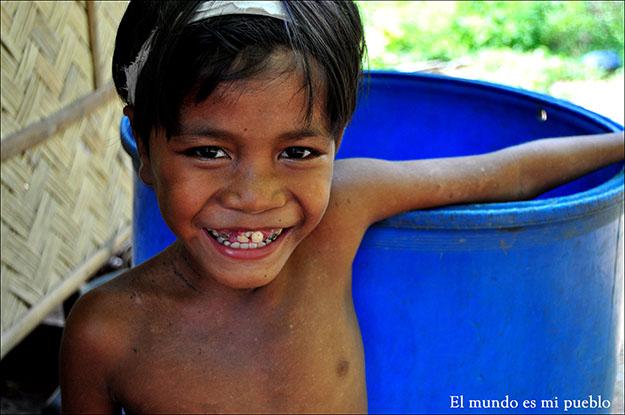La sonrisa de un niño es un idioma universal