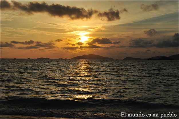 Atardecer en Sunset Beach