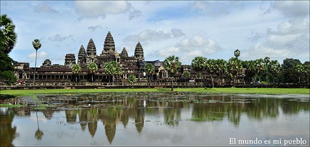 El majestuoso Angkor Wat