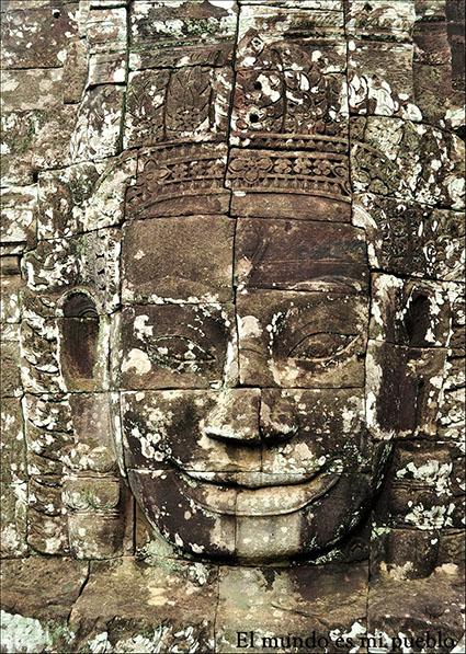 Relieve del templo Bayon