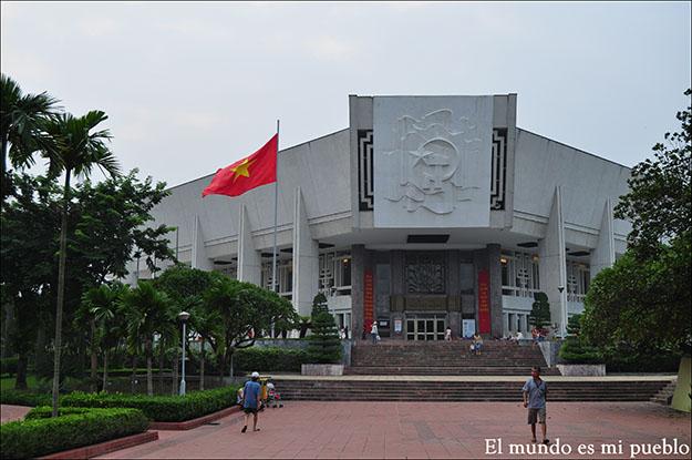 Museo de Ho-Chi Minh en Hanoi