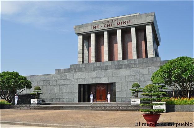 Mausoleo de Ho-Chi Minh en Hanoi