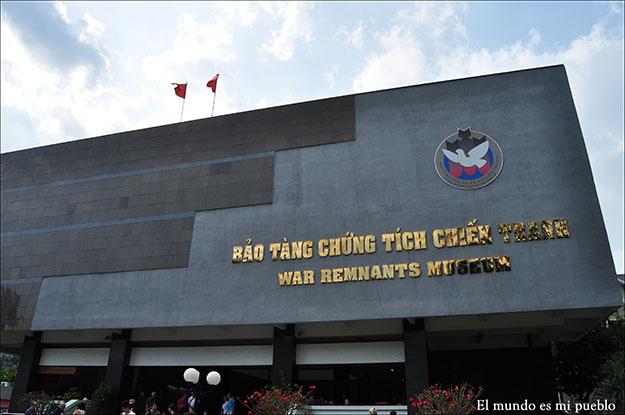 Museo de los vestigios de la guerra en Ho-Chi Minh