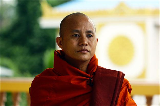 Ashin Wirathu. Fuente: huffingtonpost.com