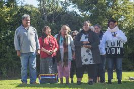Te Whanau Apanui, los anfitriones del evento. Foto: Indigenous Climate Action